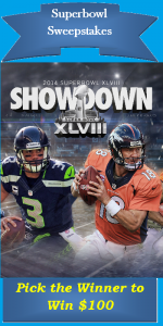 Super Bowl 2014 Sweepstakes Contest thumbnail