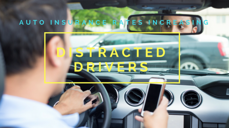 Distracted drivers insurance rates